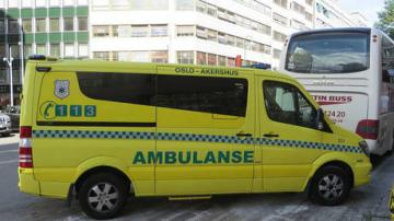 Norwegian police say several people reportedly hit by stolen ambulance in Oslo