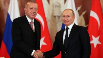 Bilateral meeting between Turkish, Russian presidents starts