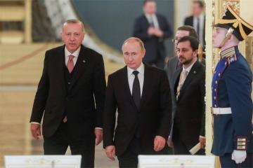 Putin Ərdoğanla Suriyadakı vəziyyəti müzakirə edəcək
