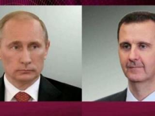 Путин провел разговор с Асадом после встречи с Эрдоганом