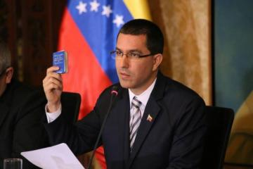 """Venezuelan FM: """" We should respond jointly to existing threats"""""""