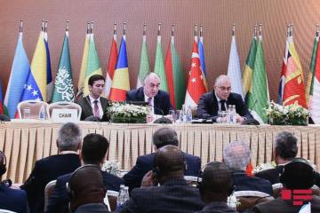 Azerbaijani FM expressed his gratitude to member states of Non-Alignment Movement due to their support to Azerbaijan's territorial integrity