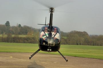 Два вертолета столкнулись над техасским ранчо