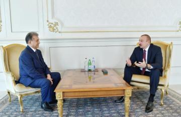 President Ilham Aliyev receives Akif Alizadeh