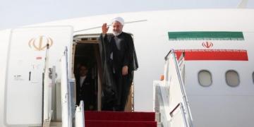 Президент Ирана прибывает с визитом в Азербайджан