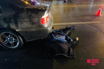 На трассе Баку-Губа насмерть сбит пешеход