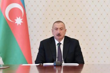Президент Ильхам Алиев: «Никаких выплат, кроме налогов, быть не может»