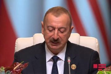"""Prezident İlham Əliyev: """"Azərbaycan müstəqil xarici siyasət yeridir"""""""