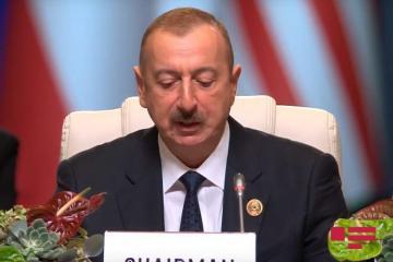 Президент Ильхам Алиев назвал приоритеты Азербайджана в период председательства в Движении Неприсоединения