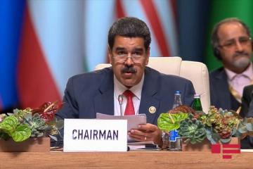 """Nicolas Maduro: """"We should not allow any country to play police role in the world"""""""