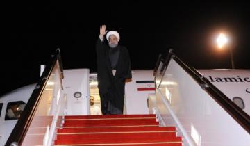 İran Prezidenti Həsən Ruhaninin Azərbaycana səfəri başa çatıb