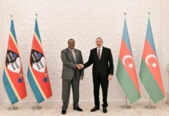 Президент Азербайджана встретился с Королем Эсватини