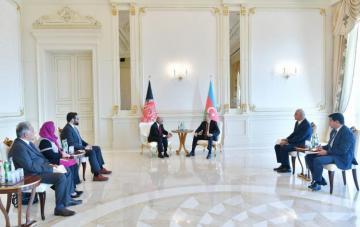 Presidents of Azerbaijan and Afghanistan met