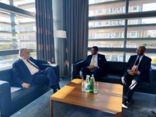 Azerbaijani FM met with the State Minister of Foreign Affairs for Political Issues of Ethiopia