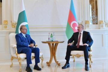 Ильхам Алиев встретился с президентом Пакистана