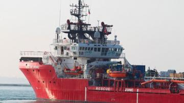Rescue ship with 104 migrants on board seeks help from EU nations