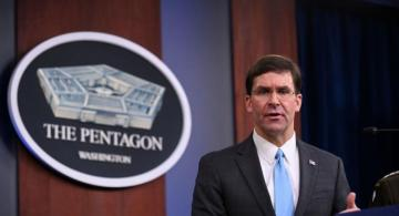 "Mark Esper: ""US forces to remain in Syria"""