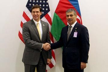 В Брюсселе состоялась встреча министров обороны Азербайджана и США