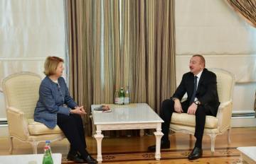 Azərbaycan Prezidenti Britaniya Baş Nazirinin ticarət elçisini qəbul edib - [color=red]YENİLƏNİB[/color]
