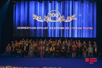 Azərbaycan Dövlət Akademik Milli Dram Teatrının 100 illiyi qeyd edilib - [color=red]FOTO[/color]