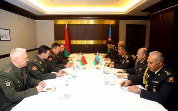Baku hosts meeting of Defense Ministers of Azerbaijan and Belarus