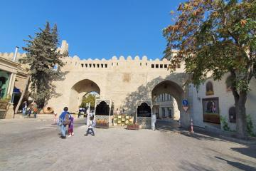 Restoration-conservation works at Icherisheher's Gosha Gala gates ended
