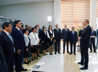 """Azerbaijani President: """"Unity of the people and government paves the way for our development"""""""