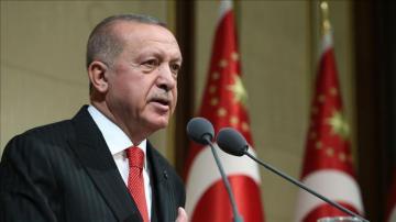Terrorists withdraw from safe zone area: Erdogan