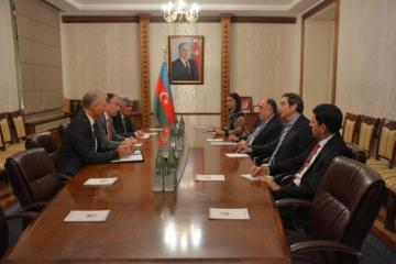 Foreign Minister Elmar Mammadarov received the EU Special Representative