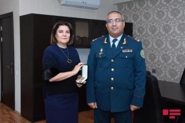 """""""APA Group""""-un rəhbəri və əməkdaşları DSX-nın medalı ilə təltif edilib"""