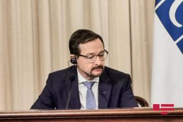"OSCE Secretary General: ""We hope that positive dynamics will reinvigorate following Azerbaijani, Armenian FMs' meeting in Bratislava"""