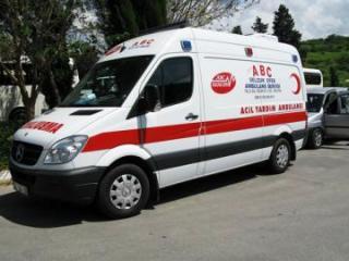 Türkiyədə ağır yol qəzasında 1 nəfər ölüb, 9 nəfər yaralanıb