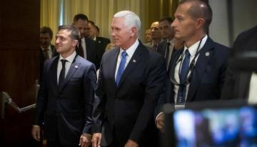 US Vice President, Ukrainian President discuss future visit of Ukrainian president to USA