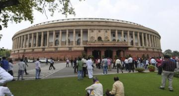 Indian police arrest knife-wielding intruder at Parliament building