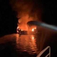 Kaliforniya sahillərində gəminin yanması nəticəsində 34 nəfər həlak olub