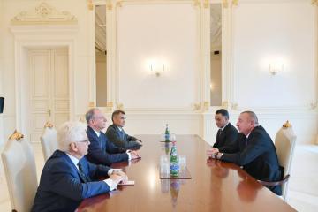 Ильхам Алиев принял секретаря Совета безопасности России