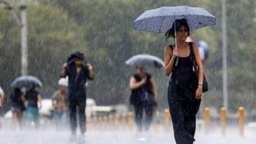 Sabahın hava proqnozu: Yağış yağacaq, şimşək çaxacaq