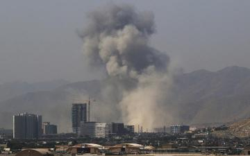 Blast shakes buildings in center of Afghan capital