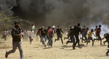 Israeli troops kill two Palestinians at Gaza border protest