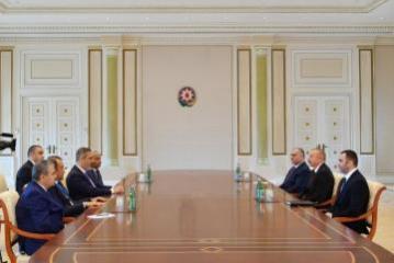 Президент Ильхам Алиев принял руководителей спецслужб тюркоязычных государств