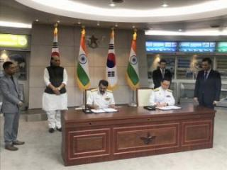 India signs military logistics pact with South Korea