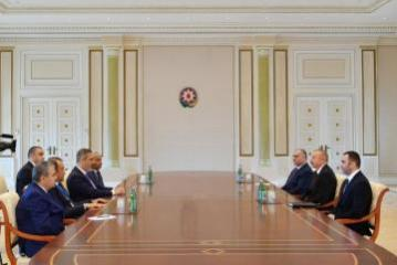 President Ilham Aliyev receives heads of Special Service Bodies of Turkic-speaking States - [color=red]UPDATED[/color]