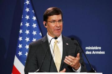 Pentagon chief says U.S. working toward 'good deal' with Taliban