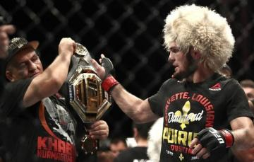Khabib Nurmagomedov beats Dustin Poirier to defend UFC lightweight title - [color=red]VİDEO[/color]