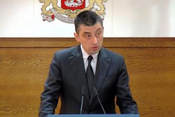 Giorgi Qaxaria Gürcüstanın Baş Naziri seçilib
