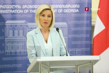 Spokeswoman of Georgian President dismissed