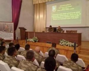 Azerbaijani MoD: Activity in the support for psychological work in military units continues