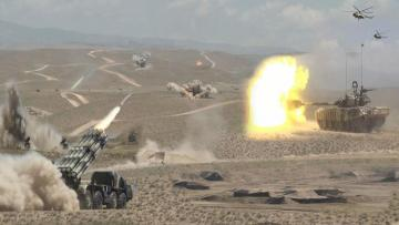 Troops of the Nakhchivan garrison started Command and Staff Exercises