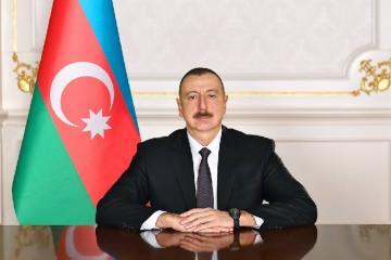 President Ilham Aliyev congratulates Giorgi Gakharia on being appointed as Prime Ministerof Georgia