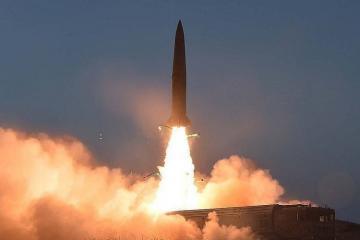 KXDR Yaponiya dənizinə doğru iki naməlum raket atıb